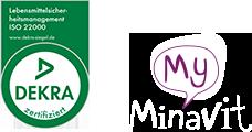 MyMinaVit ist Dekra zertifiziert